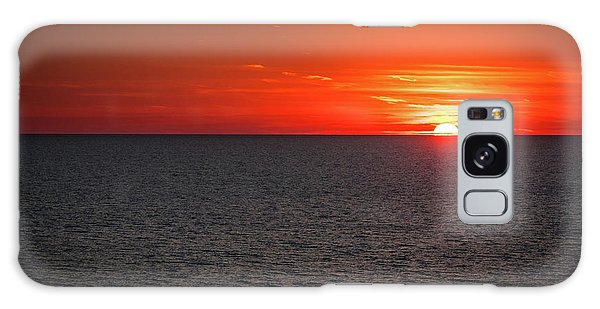 Clearwater Sunset Galaxy Case