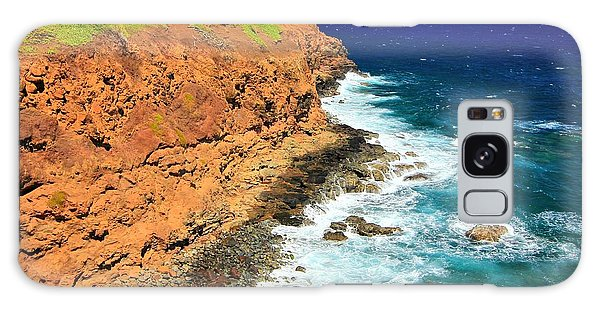 Cliff On Pacific Ocean Galaxy Case