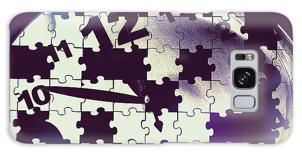 Missing Galaxy Case - Clock Holes And Puzzle Pieces by Jorgo Photography - Wall Art Gallery