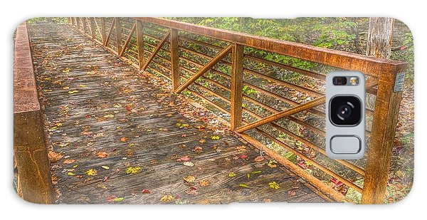 Close Up Of Bridge At Pine Quarry Park Galaxy Case