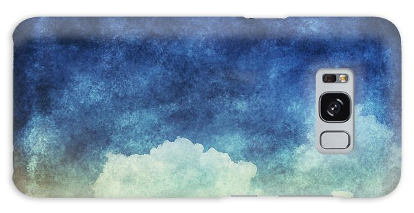 Recycle Galaxy Case - Cloud And Sky At Night ,yellow And Blue by Mr.lightman1975