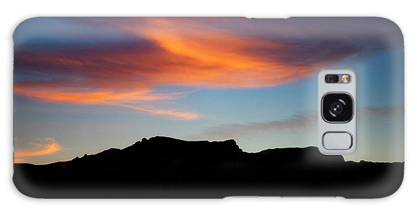Cloud Over Mt. Boney Galaxy Case