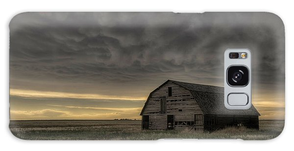 Clouds And Barn Galaxy Case