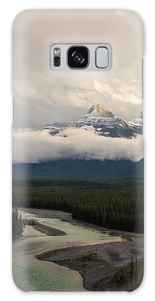 Galaxy Case featuring the photograph Clouds In The Valley by Alex Lapidus