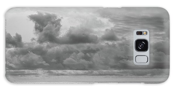 Cloudy Morning Rough Waves Galaxy Case