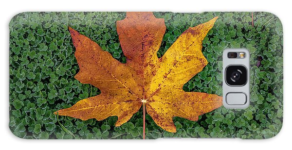 Clover Leaf Autumn Galaxy Case