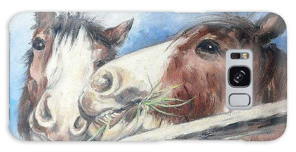 Clydesdale Pair Galaxy Case