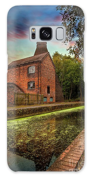 Galaxy Case - Coalport Bottle Kiln Sunset by Adrian Evans
