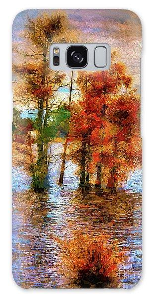 Coastal Autumn In North Carolina Ap Galaxy Case