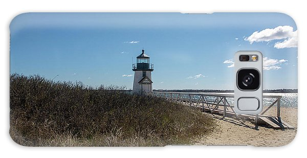 Coastal Brant Light House Galaxy Case