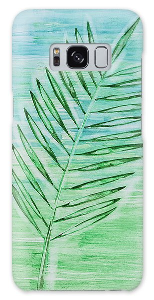 Coconut Leaf Galaxy Case