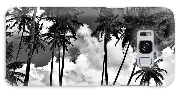 Coconut Trees At Mayaro Galaxy Case