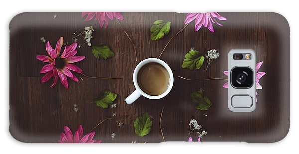 Coffee And Flowers Galaxy Case