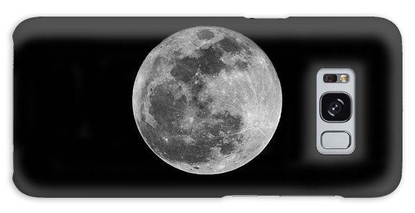 Full Cold Moon Galaxy Case