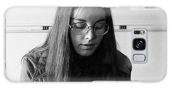 College Student With Octagonal Eyeglasses, 1972 Galaxy Case