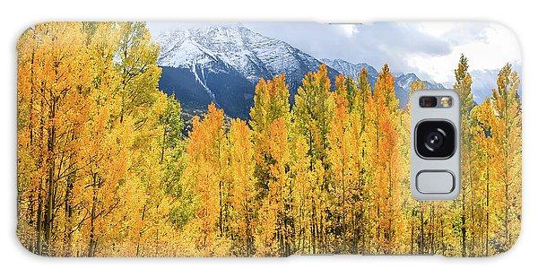 Colorado Aspens And Mountains 1 Galaxy Case