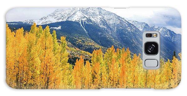 Colorado Aspens And Mountains 2 Galaxy Case