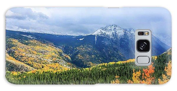 Colorado Aspens And Mountains 3 Galaxy Case