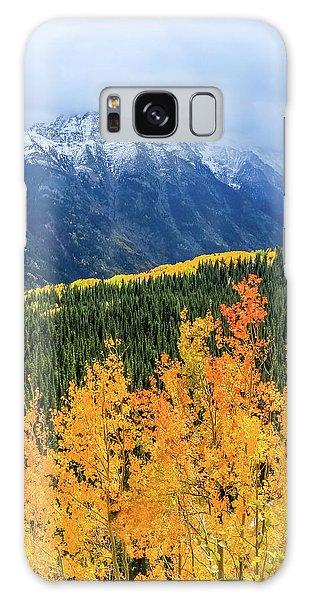 Colorado Aspens And Mountains 4 Galaxy Case