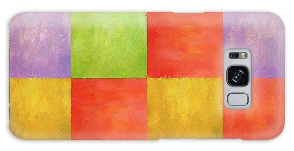 Colored Tiles Galaxy Case