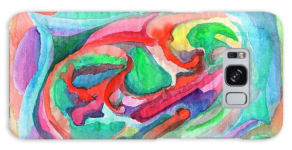 Colorful Abstraction Galaxy Case