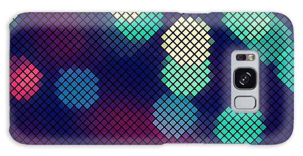 Glow Galaxy Case - Colorful Blue And Purple Abstract by Natalyon