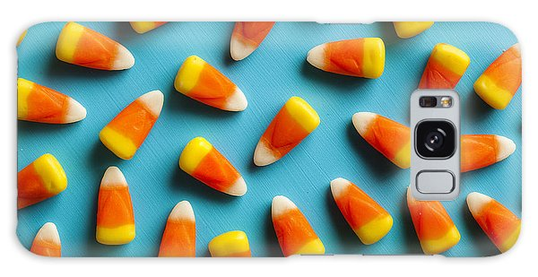 Tasty Galaxy Case - Colorful Candy Corn For Halloween On A by Brent Hofacker