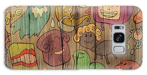 Form Galaxy Case - Colorful Doodle Illustrations Set With by Alexandra Petruk