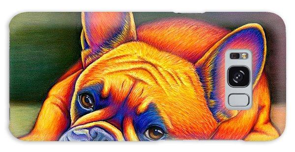 Daydreamer - Colorful French Bulldog Galaxy Case