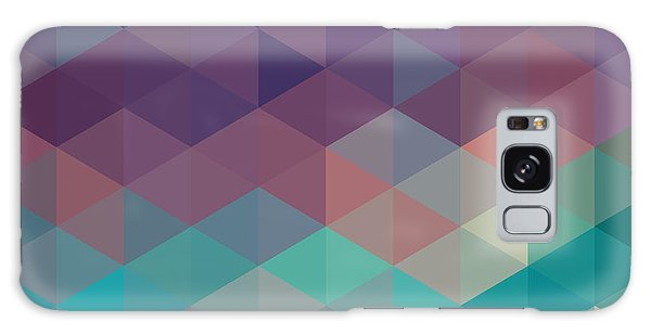Glow Galaxy Case - Colorful Geometric Background With by Olha Kostiuk
