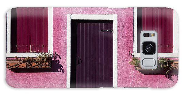 Bright Colors Galaxy Case - Colorful Geometry Photo Of A House In by Zinaida Zakharova