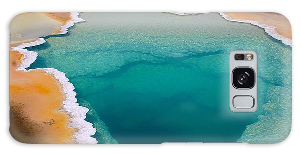 Natural Galaxy Case - Colorful Geyser In Yellowstone National by Csnafzger