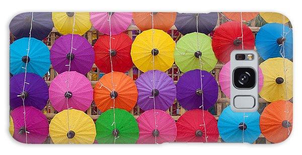 Parasol Galaxy Case - Colorful Handmade Umbrellas Bo Sang by Teerapon1979