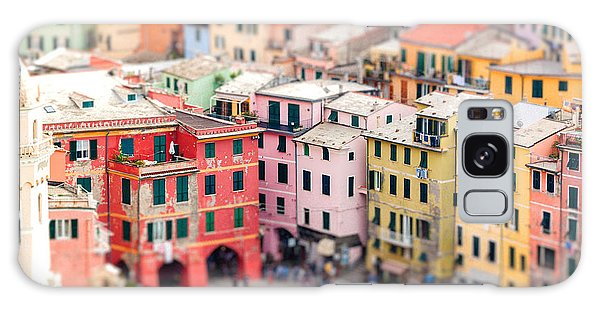 Travel Destinations Galaxy Case - Colorful Houses Of Vernazza With by Fischers