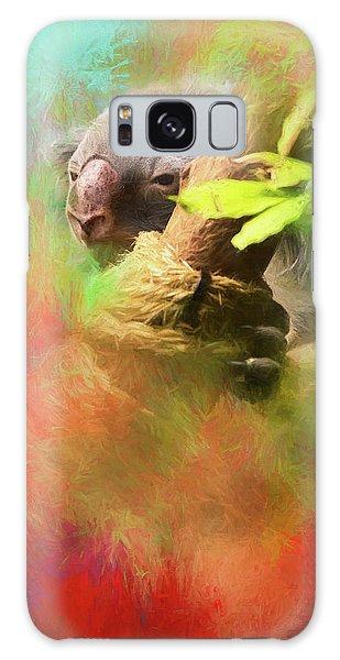 Colorful Koala Galaxy Case