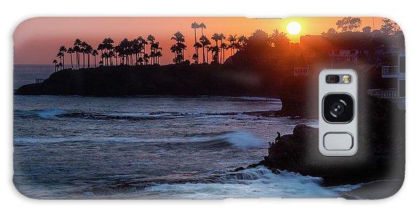 Colorful Laguna Beach Sunset Galaxy Case