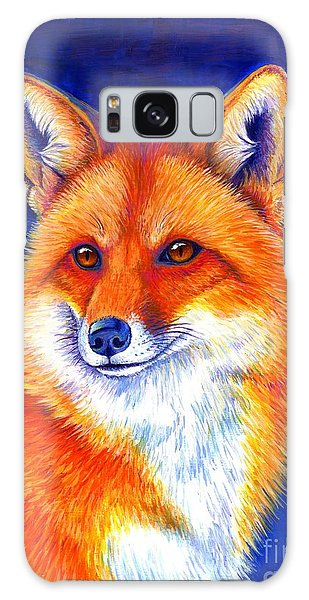 Colorful Red Fox Galaxy Case