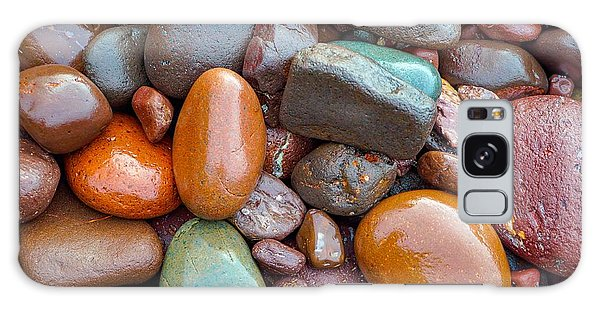 Colorful Wet Stones Galaxy Case