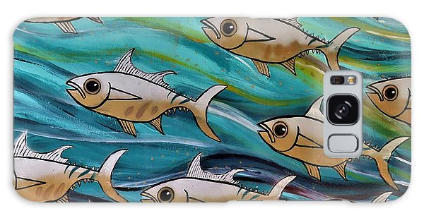 Coloured Water Fish Galaxy Case