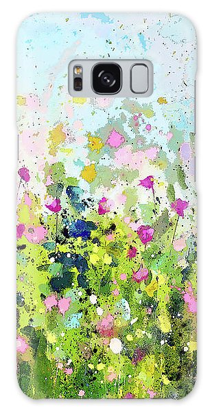 Colourful Meadow 41 Galaxy Case