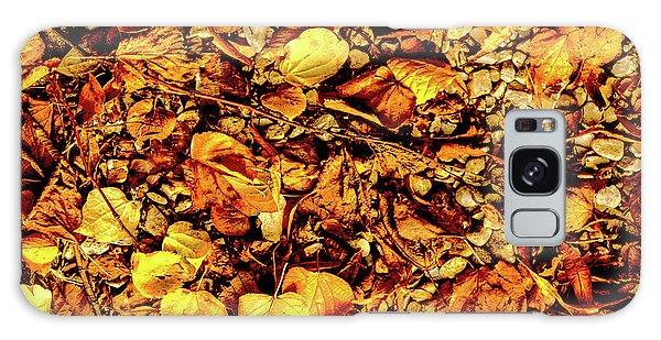 Colours. Autumn Gold Galaxy Case