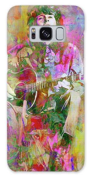 Folk Singer Galaxy Case - Colours, Donovan by Mal Bray