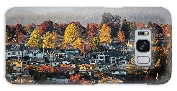 Colours Of Autumn Galaxy Case