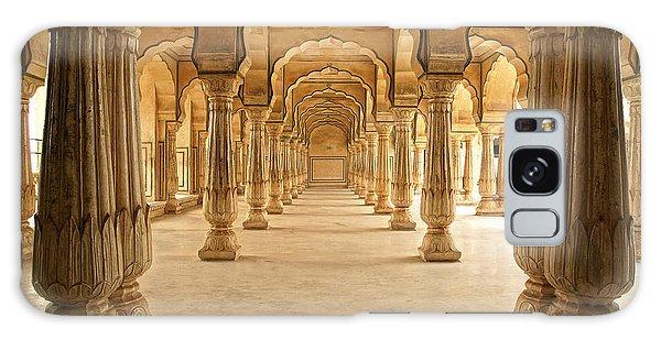 Form Galaxy Case - Columned Hall Of Amber Fort. Jaipur by Igor Plotnikov