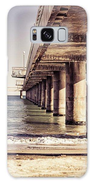 Columns Of Pier In Burgas Galaxy Case