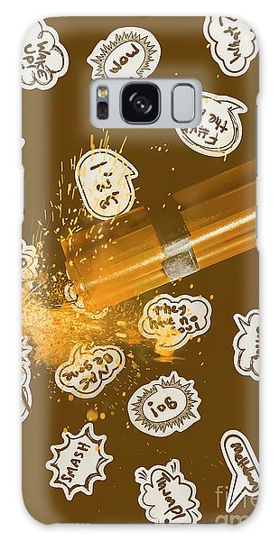 Fireworks Galaxy Case - Comical Charge by Jorgo Photography - Wall Art Gallery