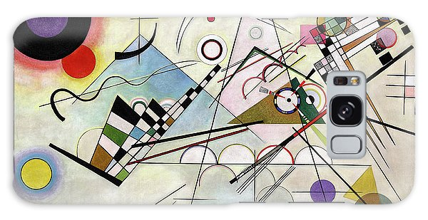 Russian Impressionism Galaxy Case - Composition 8 - Komposition 8 by Wassily Kandinsky