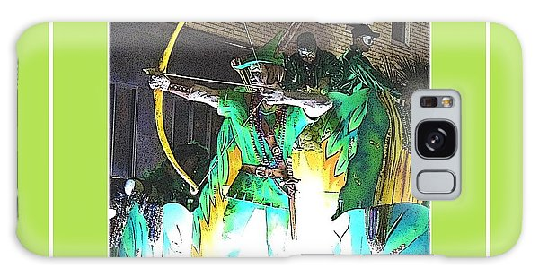 Sportsman Galaxy Case - Conde Cavaliers - Robin Hood In Poster Edges by Marian Bell