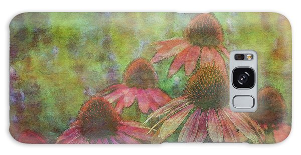 Coneflowers Among The Lavender 1667 Idp_2 Galaxy Case