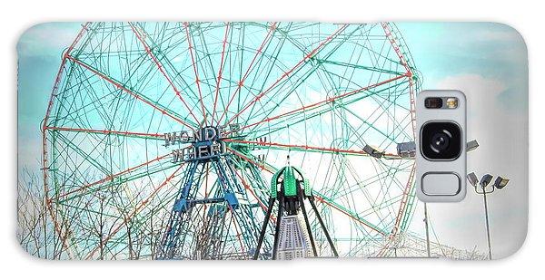 Coney Island Wonder Wheel Ny Galaxy Case